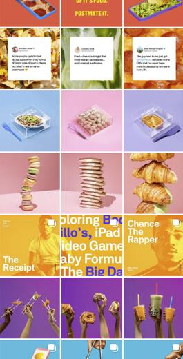 Amazing Instagram Layout Ideas - horizontal example 4