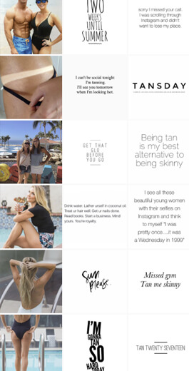 Amazing Instagram Layout Ideas - vertical layout example 1