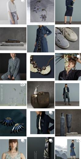 Amazing Instagram Layout Ideas - border images layout example 3