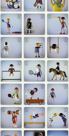 Increíbles ideas de diseño de Instagram: ejemplo de diseño de imágenes de borde 4