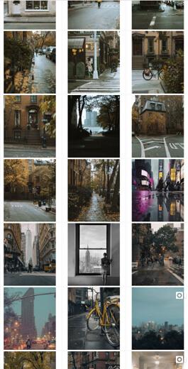 Increíbles ideas de diseño de Instagram: ejemplo de diseño de imágenes de borde 5