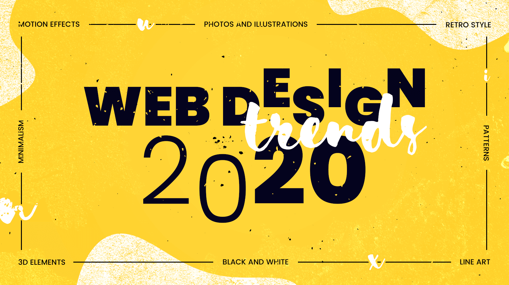 Web Trends 2020.Web Design Trends 2020 High Tech Visually Mind Blowing