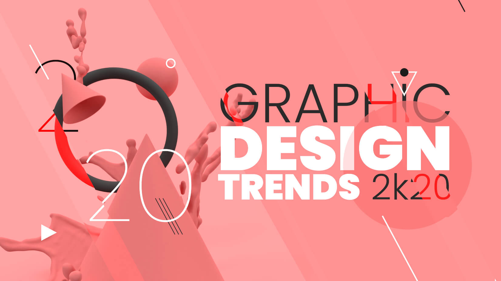 Web Design Trends 2020.Graphic Design Trends 2020 Breaking The Rules Graphicmama