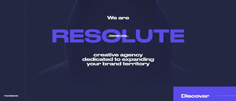 Minimalist website design - unite-agency