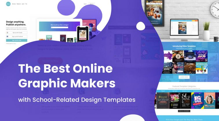 The Best Online Graphic Makers with School-Related Design Templates