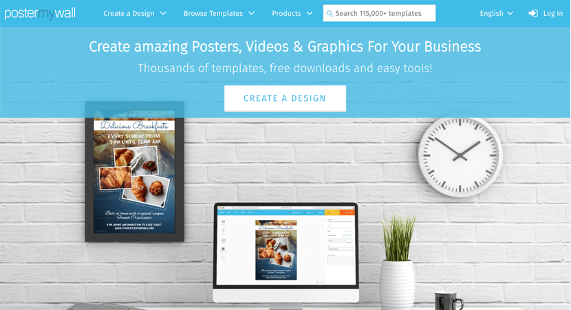 PosterMyWall - online graphic maker