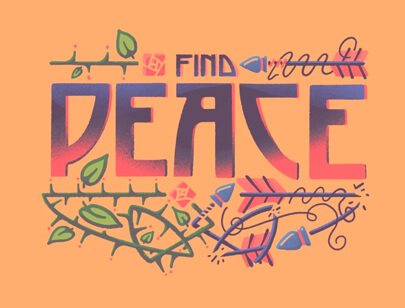 Retro Typography Designs - Find-Peace