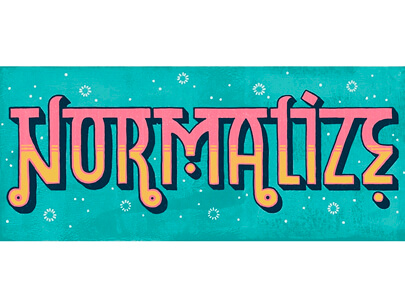 Retro Typography Designs - Normalize