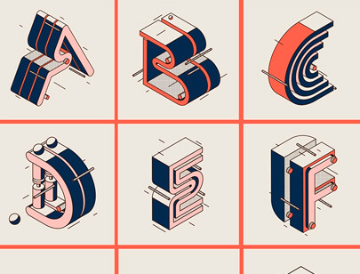 Retro Typography Designs - 36daysoftypo