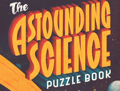 Retro Typography Designs - The-Astounding-Science