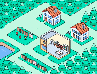 Amazing Isometric illustration styles - Pallet illustration