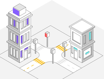 Amazing Isometric illustration styles - Buildings illustration