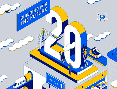 Amazing Isometric illustration styles - Logistics illustration