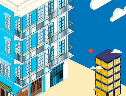 Amazing Isometric illustration styles - Magazine illustration
