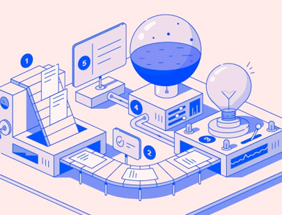 Amazing Isometric illustration styles - Work process illustration