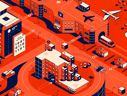 Amazing Isometric illustration styles - MODUS MAGAZINE ILLUSTRATION