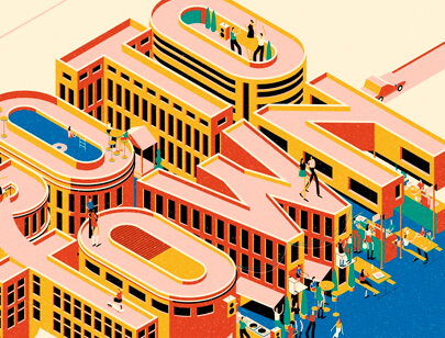 Amazing Isometric illustration styles - Where-to-Next