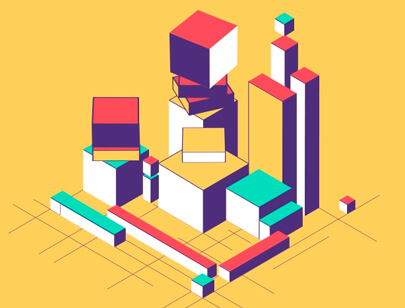 Amazing Isometric illustration styles - Isometric-Camera