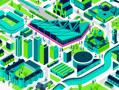 Amazing Isometric illustration styles - Belfast-illustration