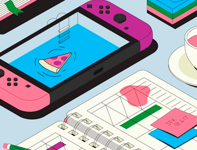Amazing Isometric illustration styles - Let-me-check-my-calendar