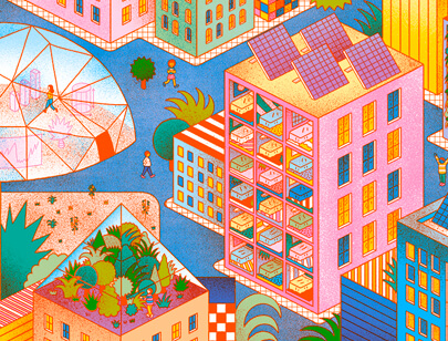 Amazing Isometric illustration styles - SPACE10-CSM