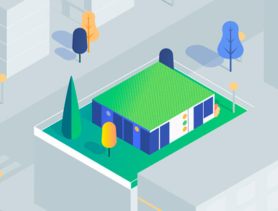 Amazing Isometric illustration styles - Urban-Air-Space