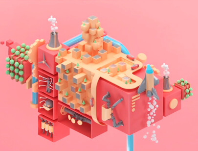 Amazing Isometric illustration styles - Future-Worlds