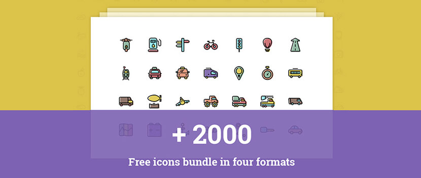 Thousands free icon pack