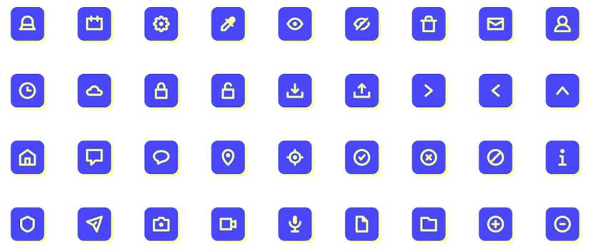 Essentials free modern icon pack
