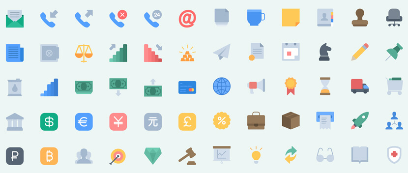 140 Essential free icon pack