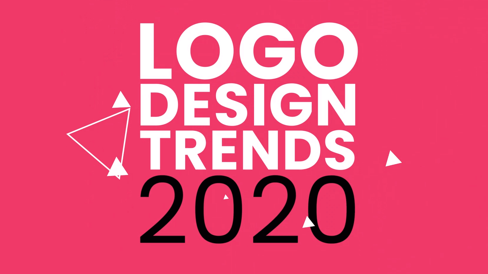 2020 Graphic Design Trends.Logo Design Trends 2020 A Blast Of Colors And Shapes