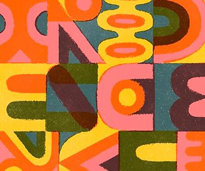 Brockhampton - creative typography inspirational design