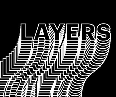 Kinetic typography - creative line art typography design inspirational example
