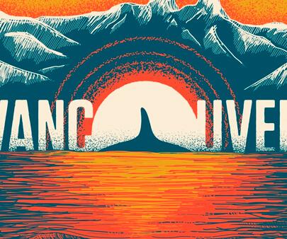 Vancouver creative - interactive creative typography design inspiration example