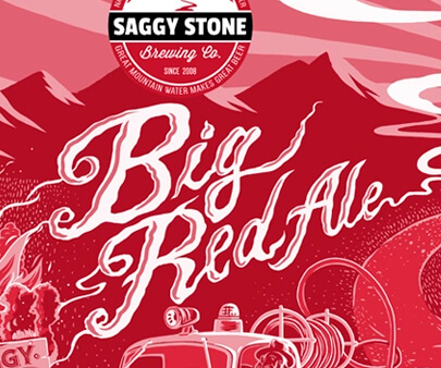 Saggy Stone - liquid and texture creative typography design inspiration example