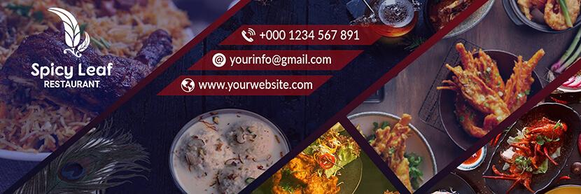 food social media cover banner