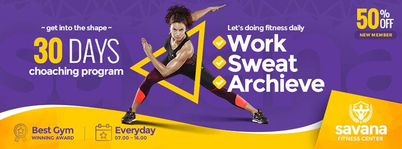 Sport Social Media Cover Banner