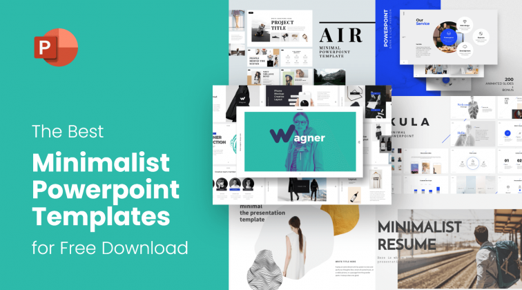 the best free minimalist powerpoint templates