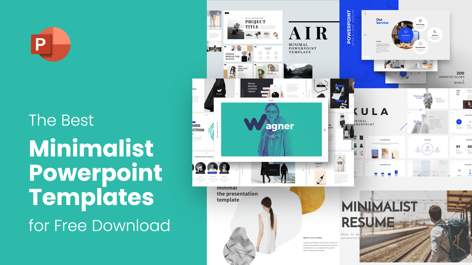 The Best Minimalist Powerpoint Templates For Free Download