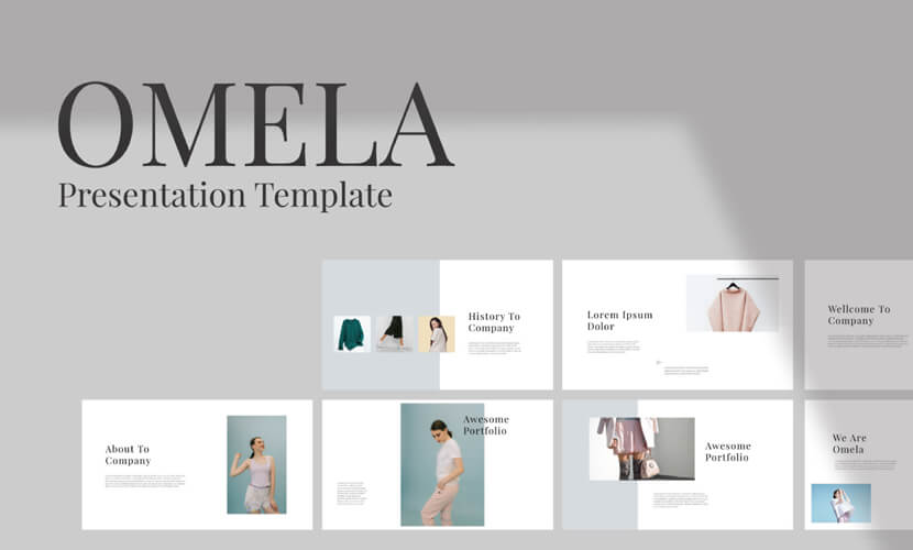 omela free multipurpose presentation template