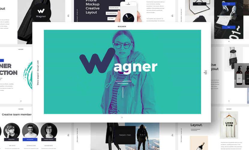 wagner free multipurpose powerpoint template