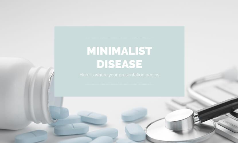 free minimalist disease presentation