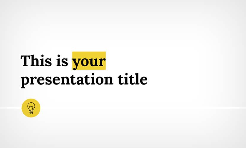 viola free presentation template