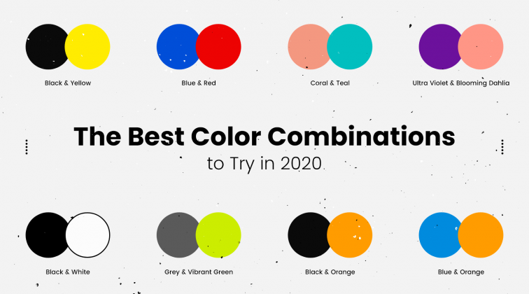the best color combinations to try in 2020