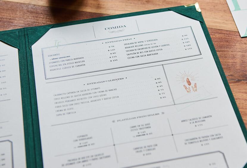 Trasfonda classy restaurant menu design for inspiration