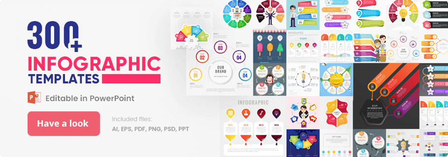 Ultimate Infographic Template Collection for PowerPoint, Google Slides, Photoshop, Illustrator