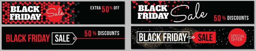 fee black friday collection sale banner