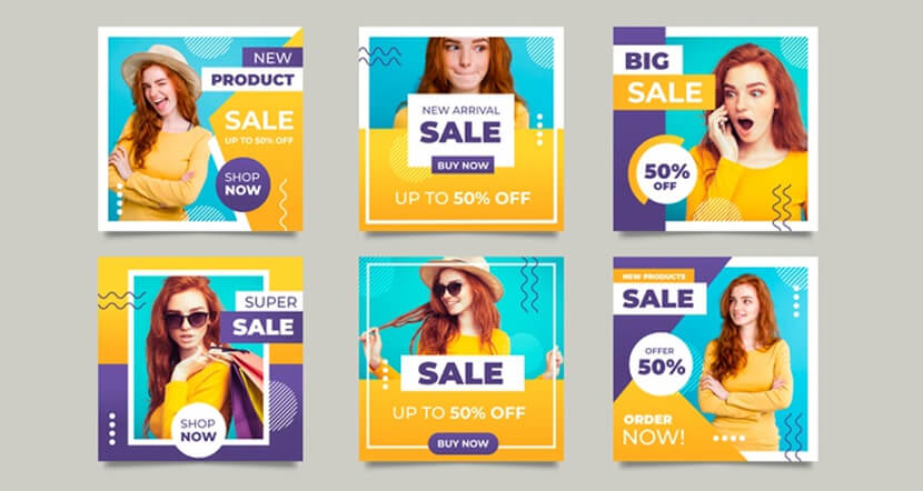 online collection with promotional offers