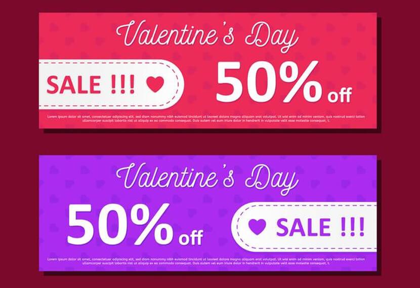 free valentine sales day offer