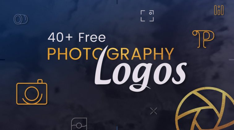 40+ free photography logos